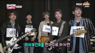 [ENG SUB] 170321 DAY6 CUT SHOW CHAMPION BEHIND