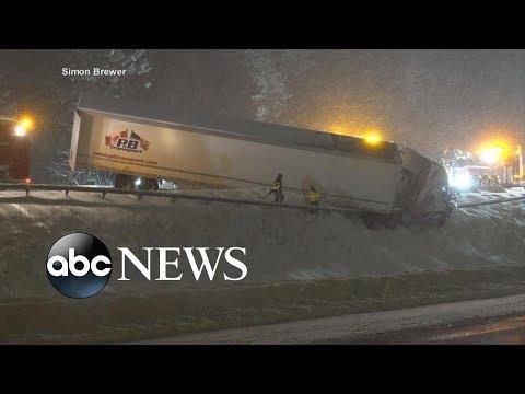 Deadly storms impact millions coast to coast | ABC News