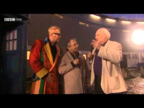 Colin Baker and Sylvester McCoy on Doctor Who's 50th The One