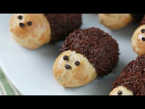 HEDGEHOG CREAM PUFFS Ft TheWarpZone! - NERDY NUMMIES