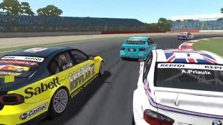 rFactor 2 Gameplay - BMW E90 WTCC Race Highlights