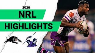 Panthers v Storm Match Highlights   Round 6 2020   Telstra Premiership   NRL