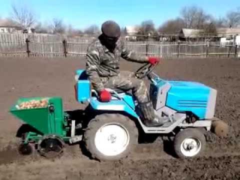 Особенности мини трактора, хТЗ