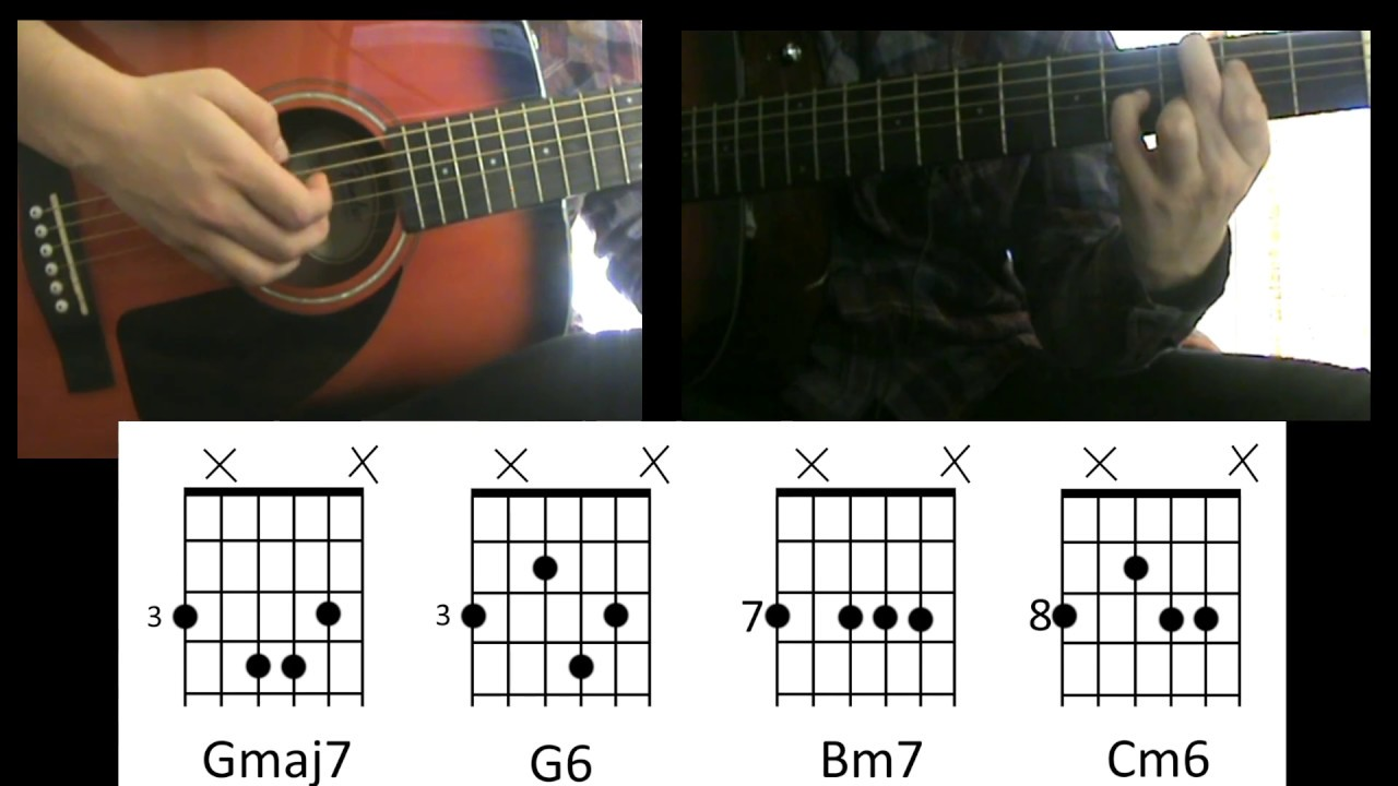 how to play breakdown by jack johnson on guitar