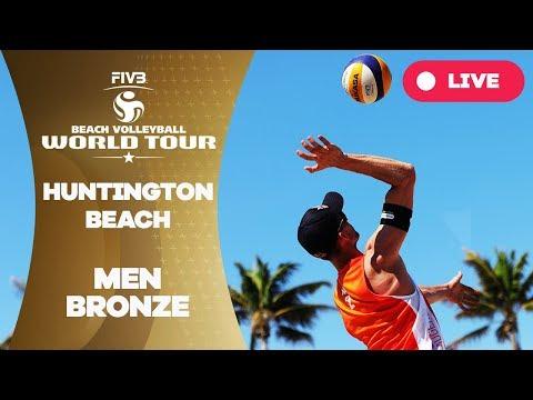 Huntington Beach - 2018 FIVB Beach Volleyball World Tour - Men Bronze Medal Match