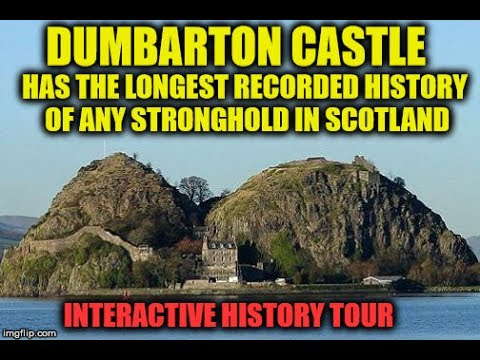 🚲 CYCLE TO DUMBARTON CASTLE LIVE STREAM 🚲 Tune In For Interactive History Tour 😀