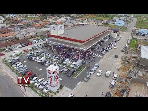 Inauguração do Supermercado Carol reúne gasparenses nessa quinta-feira