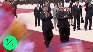 North Korea's Kim Jong Un Meets China's Xi Jinping in Pyongyang