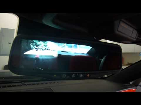 2010 Camaro Reverse camera and rearview mirror