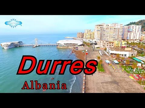 Durres 2018, Albania spring, shooting drone Full HD #3