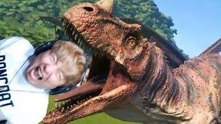 목숨걸고 구경하는 쥬라기 공원 만들기 쥬라기 월드 에볼루션 Jurassic World Evolution