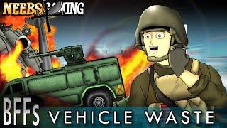 Battlefield Friends - Vehicle Waste