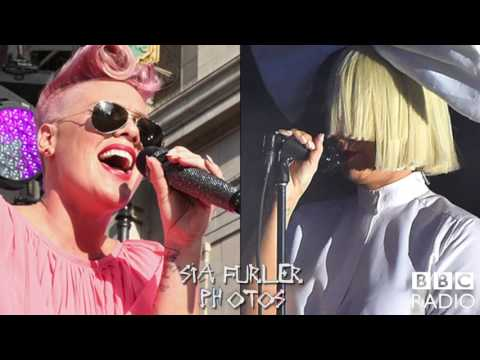 Sia and P!nk interview bbc 1 radio