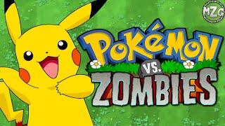Pokémon vs. Zombies!? - Plants vs. Zombies Pokemon Mod Gameplay