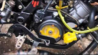 carter d'embrayage transparent pour moteur Minarelli AM6