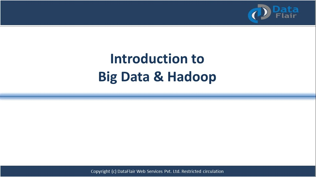 Introduction to Big Data and Hadoop for Beginners | Big Data Tutorial  Training Video