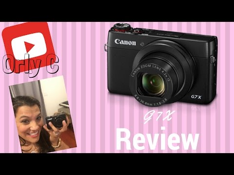 Canon PowerShot G7 X Digital Camera - CANON Review | Shopswell
