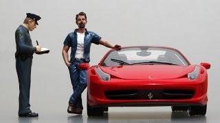 Ferrari 458 Spyder Hot Wheels Elite 1:18