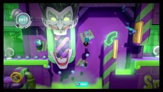 Little Big Planet 3 DC Universe level kit speedrun