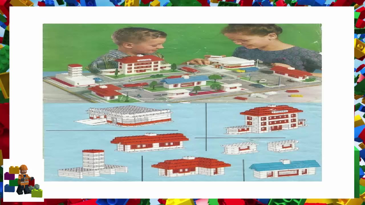 Lego Instructions - System - Town Plan - 810