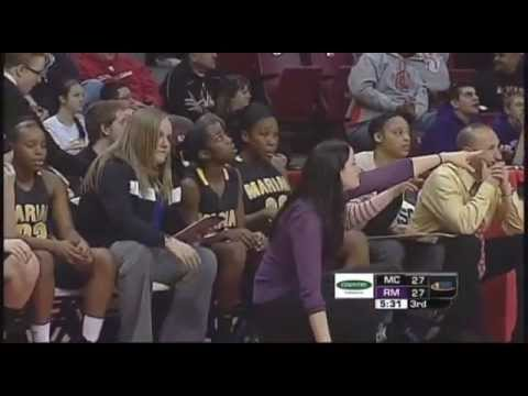 2013 IHSA Girls Basketball Class 4A Championship Game: Chicago Heights (Marian) vs. Rolling Meadows