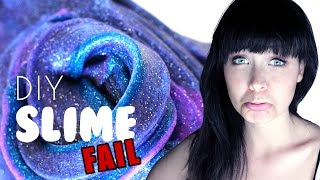 DIY GALAXY Slime FAIL