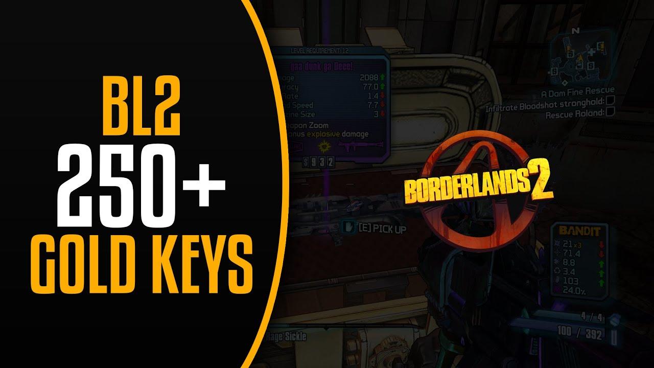 How To Get 250+ Golden Keys In Borderlands 2 - Every Shift ... Borderlands 2 Golden Key Shift Codes