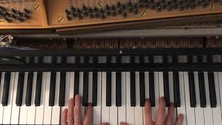 Bob Dylan - Key West (Philosopher Pirate) - Piano Tutorial