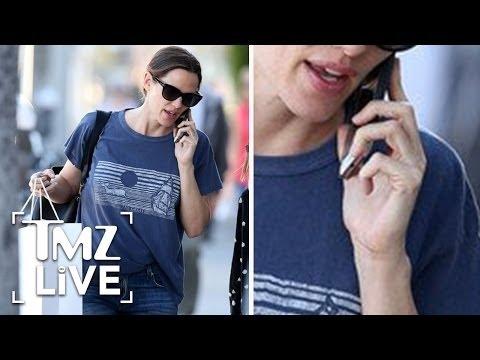 Jennifer Garner: Wedding Ring OFF, Divorce ON | TMZ Live