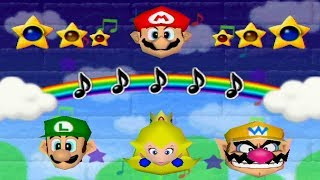 Mario Party 2 - All 1 Vs. 3 Minigames