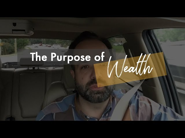 Driven Ep2 - The Purpose of Wealth