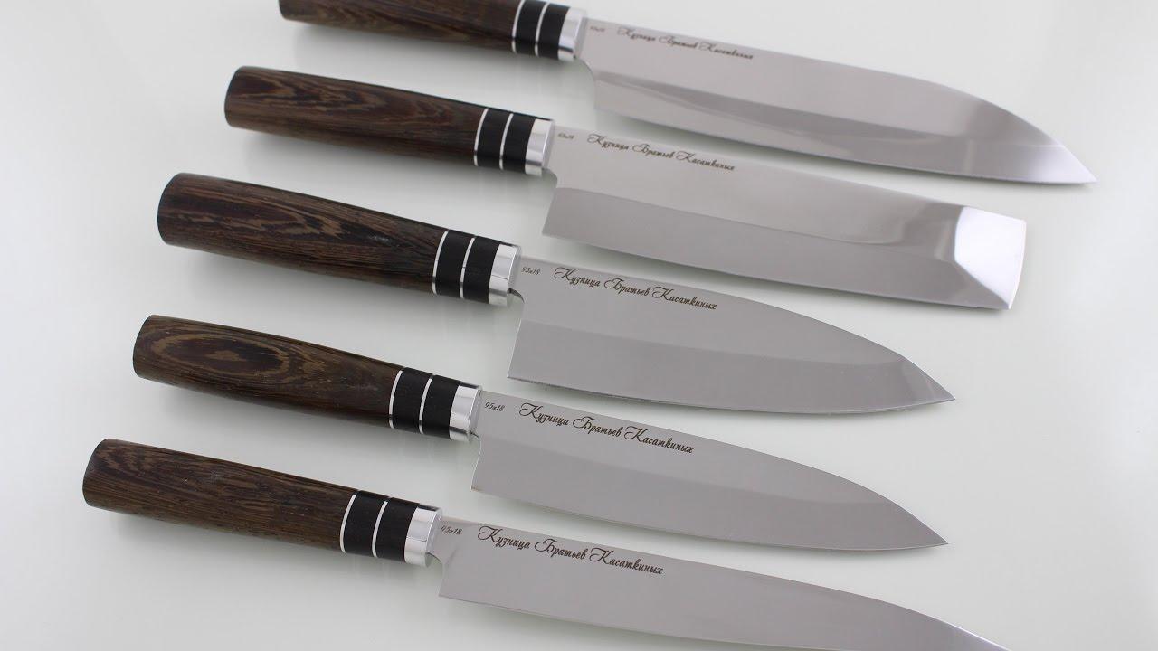 Нож 5 дюймов VG10 G10 с Aliexpress - YouTube