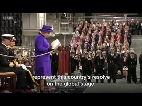HMS Queen Elizabeth commissioned, report I