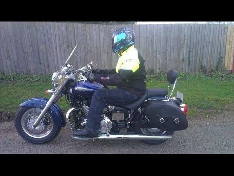 Ride Review Triumph America Lt Youtube