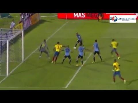 Uruguay vs Ecuador 2-1 - Todos los Goles - 10/Noviembre/2016 - Eliminatorias Rusia 2018