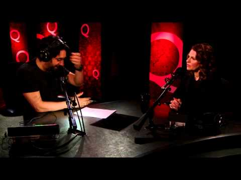 Outlandish comedienne Sandra Bernhard in Studio Q