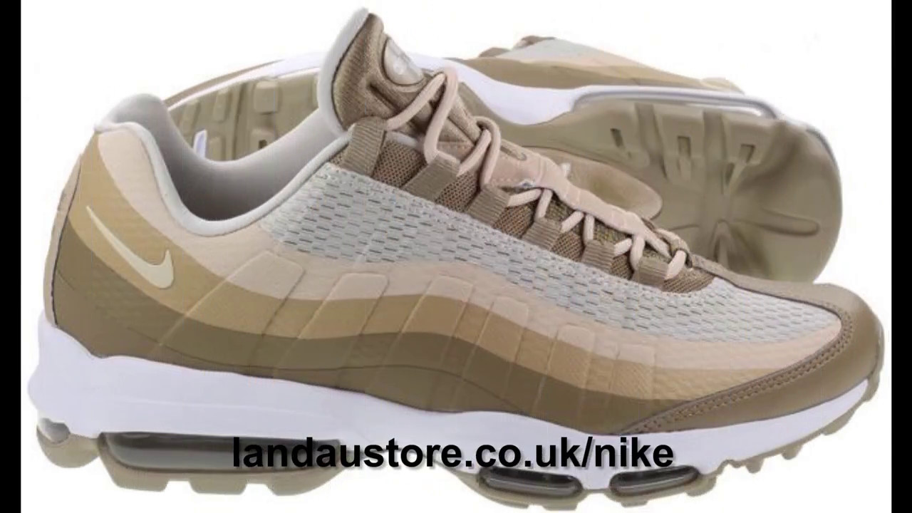 low priced 9652d ebfad 👉 Nike Shoes Air Max 95 Ultra Essential Khaki Oatmeal Linen Men's Shoes