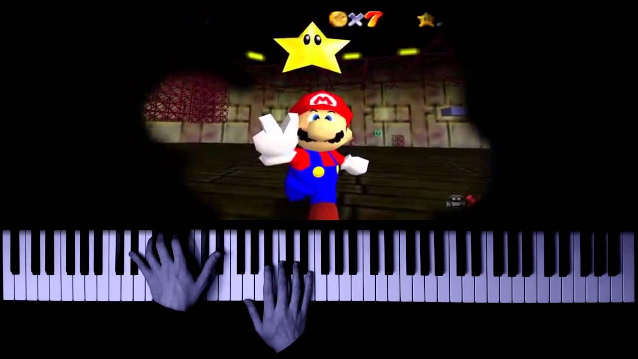 Super Mario 64 - Dire, Dire Docks (Piano Cover + SHEET MUSIC)