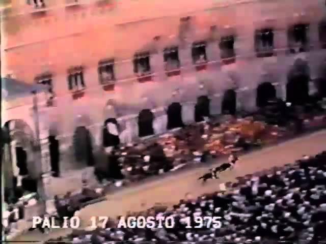 Palio 17 agosto 1975