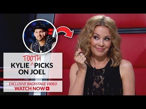 Kylie Minogue picks on Joel Madden | The Voice Australia 2014