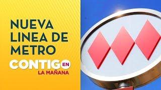 Presidente Piñera anunció nueva línea del Metro de Santiago - Contigo en La Mañana