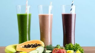3 Flat Belly Smoothie Recipes to Help Decrease Stomach Fat