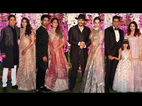 Akash Ambani Wedding Reception Full Hd Video   Shah Rukh Khan, Mukesh Ambani