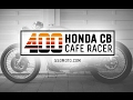 Honda CB 400 four Cafe Racer Build by 550moto