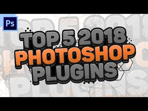 Top 5 Free Photoshop Plugins 2018 by Qehzy - YouTube