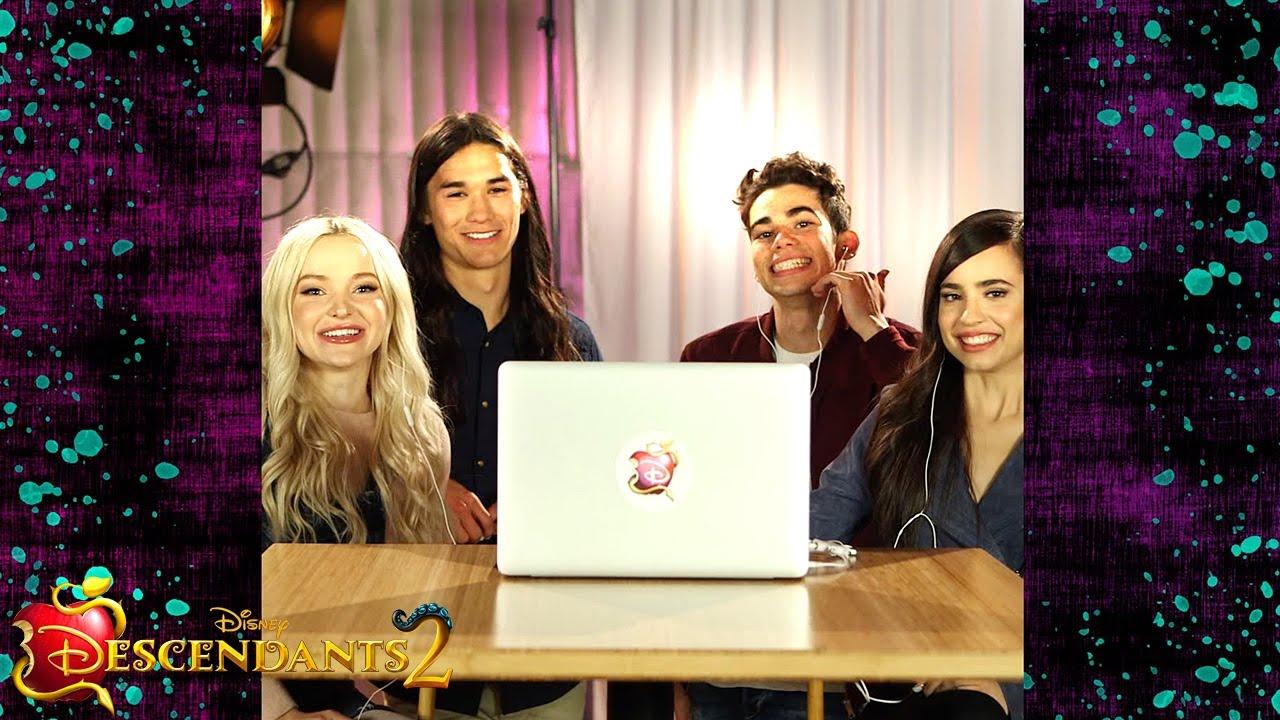 Descendants 2 Cast Trailer Reaction | Descendants 2