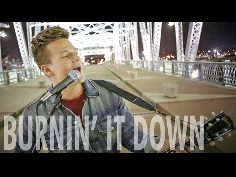 Burnin' It Down - Tyler Ward (Acoustic Cover) - Jason Aldean - Official Music Video