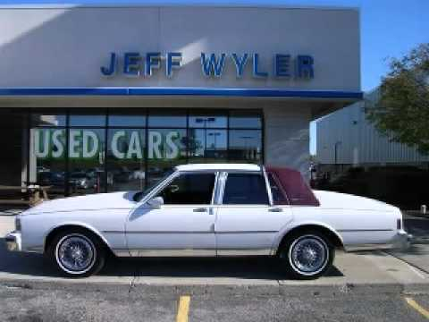 Jeff Wyler Chevy >> 1989 Chevrolet Caprice Jeff Wyler Springfield Auto Mall ...