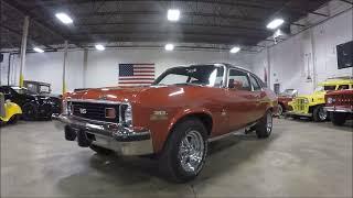 1974 Chevrolet Nova Orange