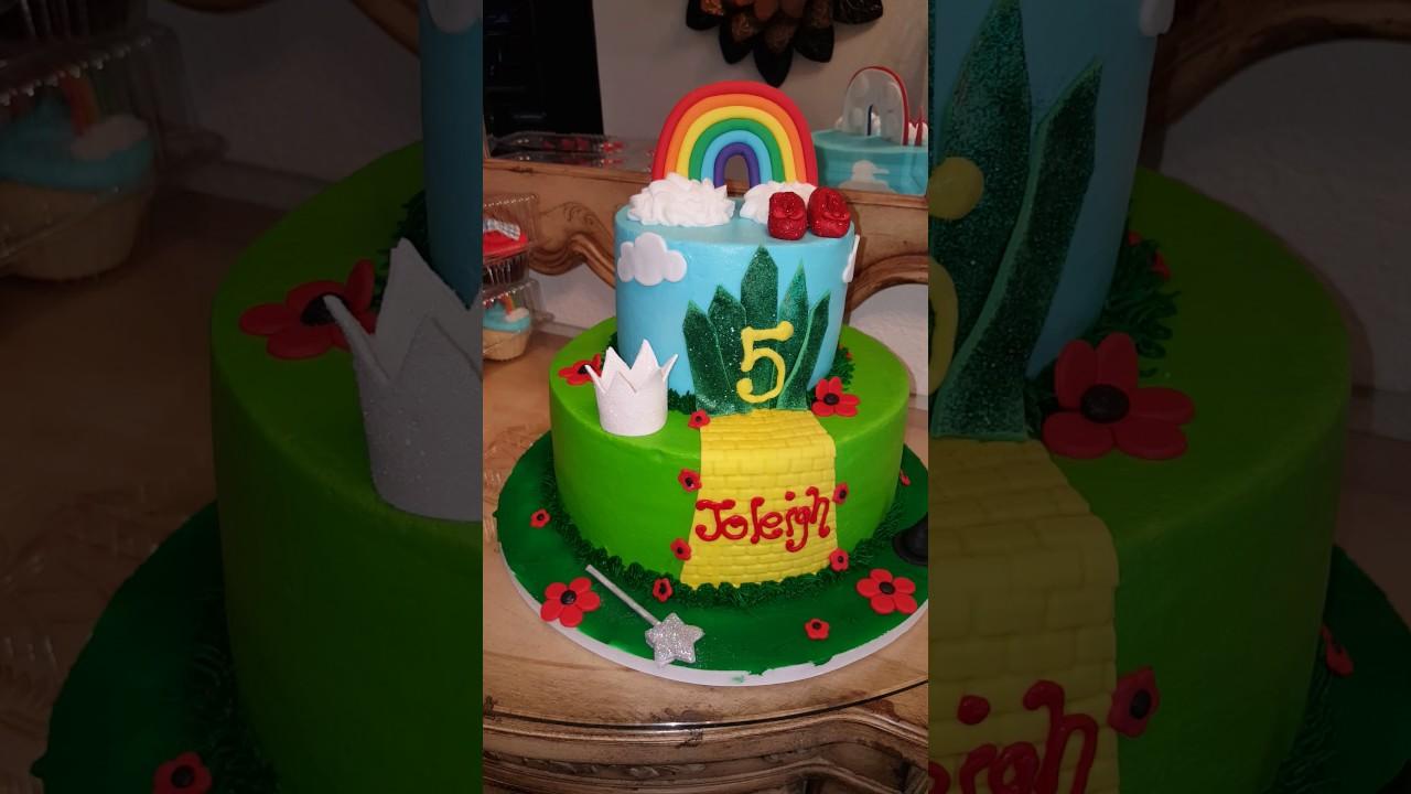 Wizard Of Oz Cake Youtube